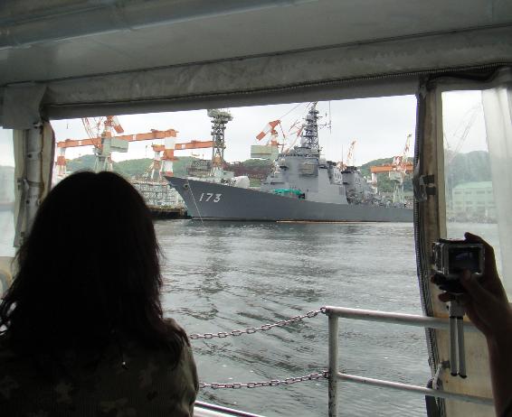 船からの景色1